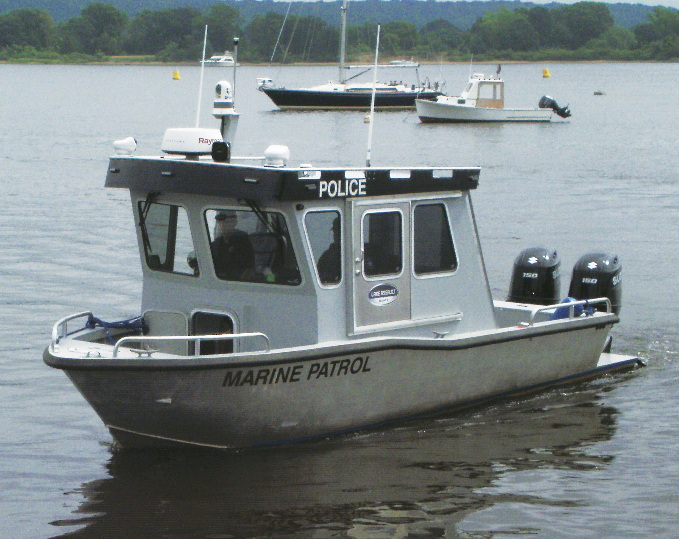 lake assault places a 26 foot patrol craft into service with the